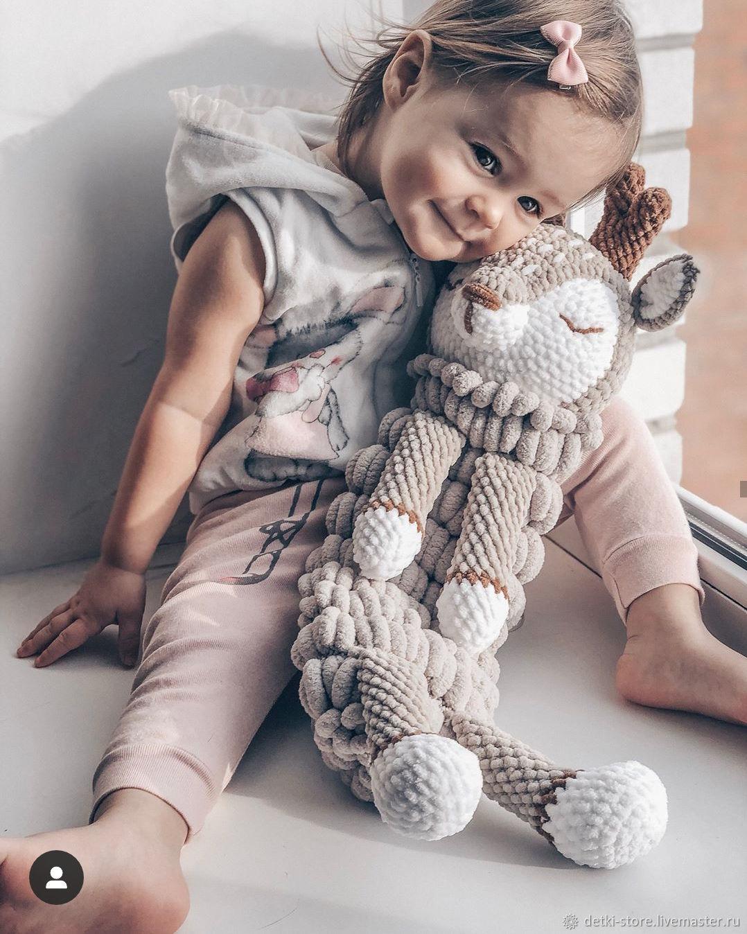 Пижамница Оленёнок (Олень) - игрушка для пижамы, Мягкие игрушки, Пенза,  Фото №1