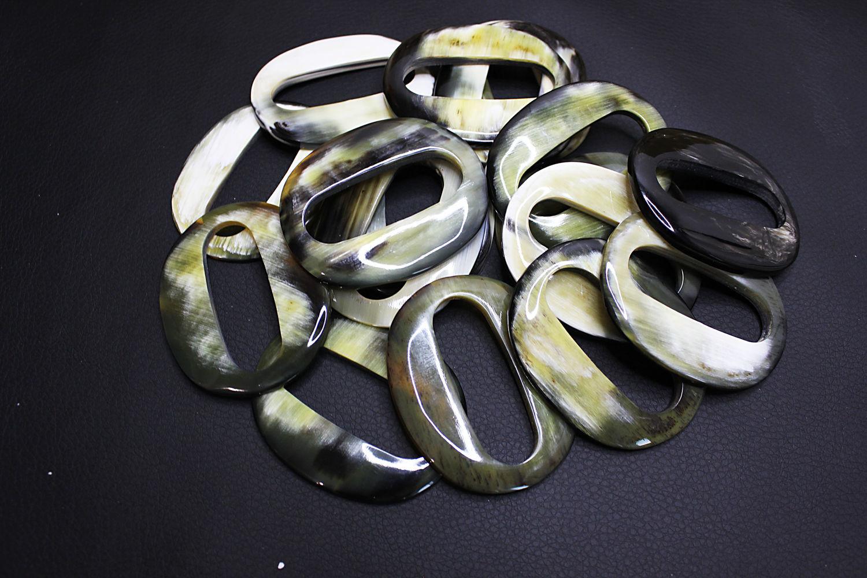 The pendant/Connector/Pendant for Zebu Buffalo Horn Earrings 60h48mm, Pendants, Bryansk,  Фото №1