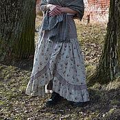 Одежда ручной работы. Ярмарка Мастеров - ручная работа Комплект из юбки и панталон в стиле бохо. Handmade.