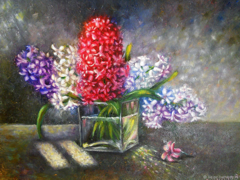 Гиацинты в картинах художников