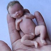 Куклы и игрушки ручной работы. Ярмарка Мастеров - ручная работа Малыш из полимерной глины. Handmade.