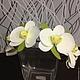 Цветы ручной работы. Заказать Венок с орхидеями. Калинова Ирина (kalinowa2010). Ярмарка Мастеров. Веночек, цветы ручной работы
