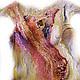 """Платья ручной работы. Ярмарка Мастеров - ручная работа. Купить Платье валяное """"Призрак розы"""". Handmade. Абстрактный, Сумерки, индийский"""