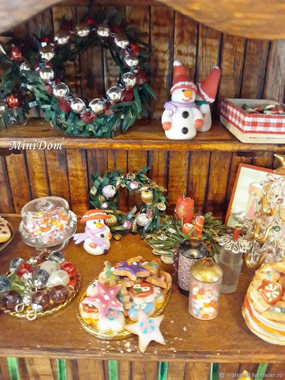 Christmas Counter.Christmas Counter Display Cases For Dollhouse Miniatures Zakazat Na Yarmarke Masterov Enkvncom Miniatyurnye Igrushki Moscow