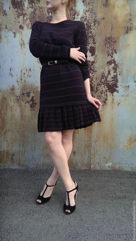 Платья ручной работы. Ярмарка Мастеров - ручная работа. Купить Платье из шерсти мериноса /шерстяное / авторское. Handmade. Орнамент