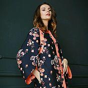 Одежда handmade. Livemaster - original item Dress-coat-cardigan