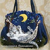 Сумки и аксессуары ручной работы. Ярмарка Мастеров - ручная работа Cон в лунную ночь. Handmade.