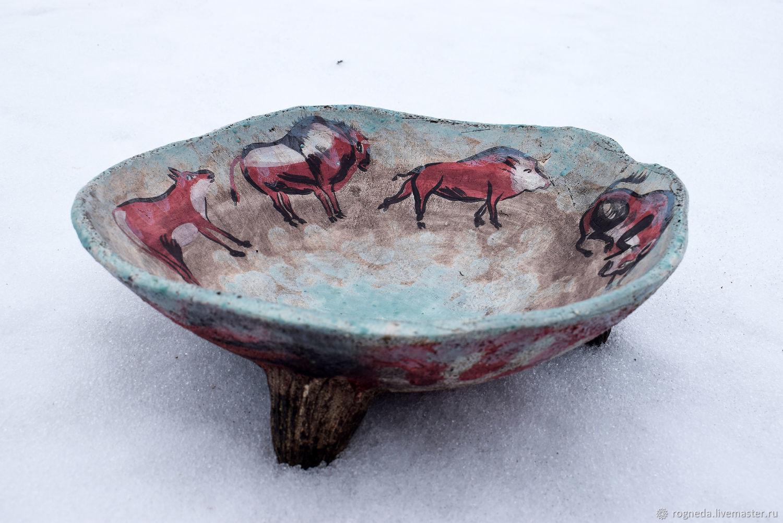 Cueva de las Manos I Prehistoric bowl, Salad Bowl, Moscow,  Фото №1