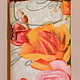 Кошельки и визитницы ручной работы. Ключница кожаная АХ, КАК ХОЧЕТСЯ ВЕРНУТЬСЯ. Rusnika, Сделано, с любовью!. Интернет-магазин Ярмарка Мастеров.