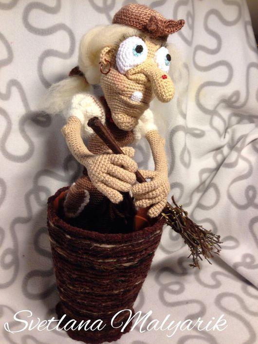 Сказочные персонажи ручной работы. Ярмарка Мастеров - ручная работа. Купить Баба-Яга. Handmade. Сказка, баба яга