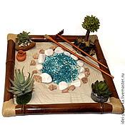 Картины и панно ручной работы. Ярмарка Мастеров - ручная работа Японский садик Мираж. Handmade.