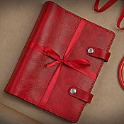 handmade. Livemaster - original item Daily diary made of leather
