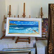 Картины и панно ручной работы. Ярмарка Мастеров - ручная работа Автралийское побережье. Handmade.