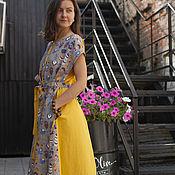 Одежда handmade. Livemaster - original item Dress . Feathers. Handmade.