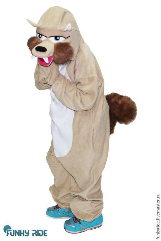 Costume kigurumi Squirrel Skrat (Ice age)