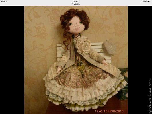 Коллекционные куклы ручной работы. Ярмарка Мастеров - ручная работа. Купить Интерьерная кукла в стиле Бохо. Handmade. Интерьерная кукла