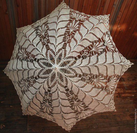 Зонты ручной работы. Ярмарка Мастеров - ручная работа. Купить Кружевной зонт. Handmade. Кружевной зонт, аксессуары