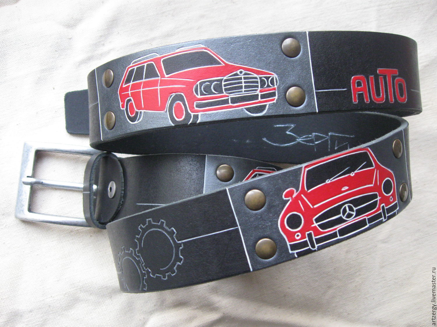 MY MERCEDES strap leather, Straps, Moscow,  Фото №1