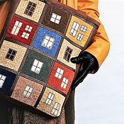 Сумки и аксессуары handmade. Livemaster - original item shopper: Shopper House Hundertwasser, women`s bag. Handmade.