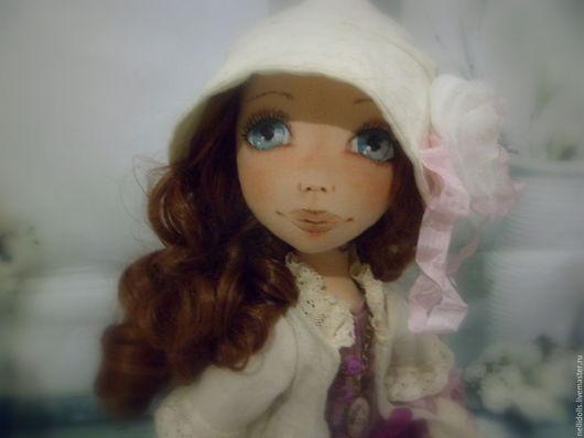 Коллекционные куклы ручной работы. Ярмарка Мастеров - ручная работа. Купить Сшита на заказ. Handmade. Кукла ручной работы