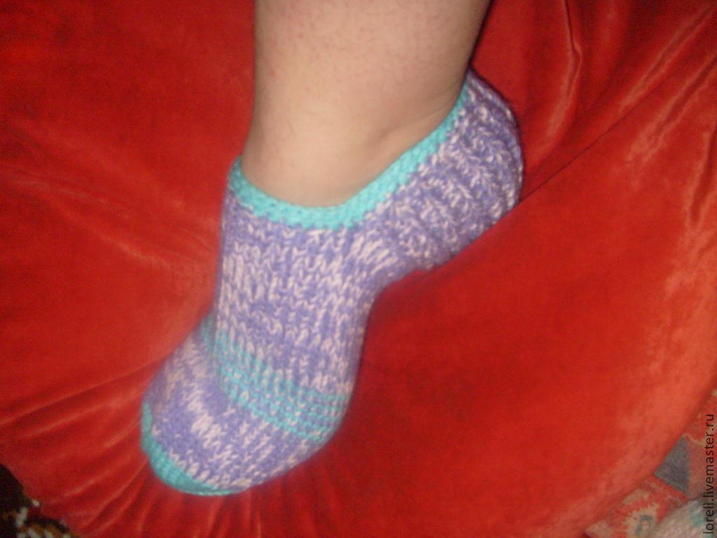 сайты вязания носков и следков