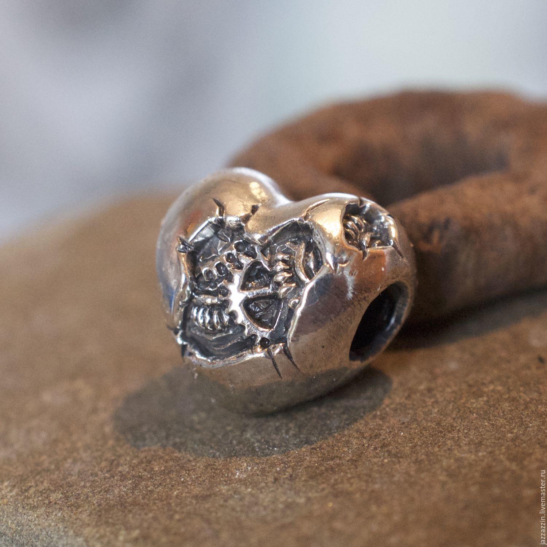 All for Jewelry Making handmade. Livemaster - handmade. Buy Mechanical heart charm.Charm, artisan, mechanical