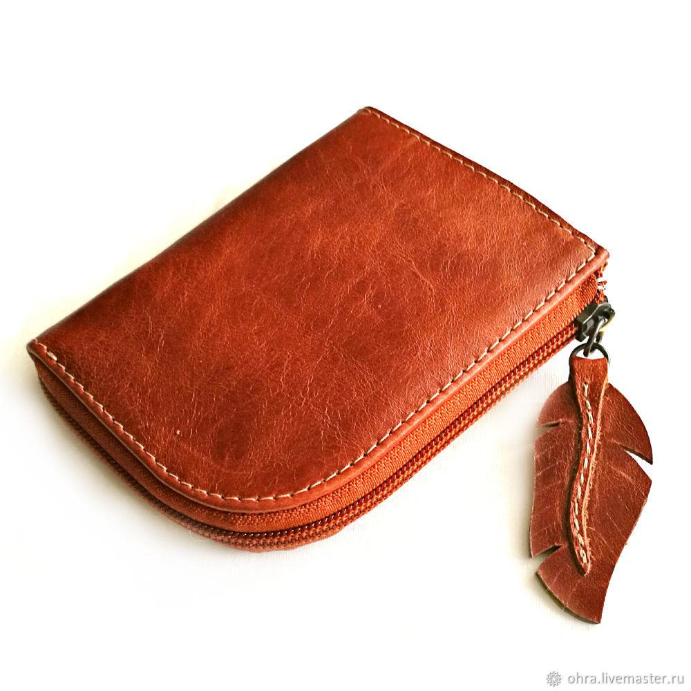 Wallet leather ' Piglet', Wallets, Cheboksary,  Фото №1