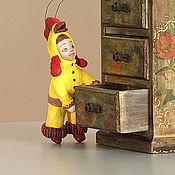 Куклы и игрушки ручной работы. Ярмарка Мастеров - ручная работа Елочная игрушка из ваты. Handmade.