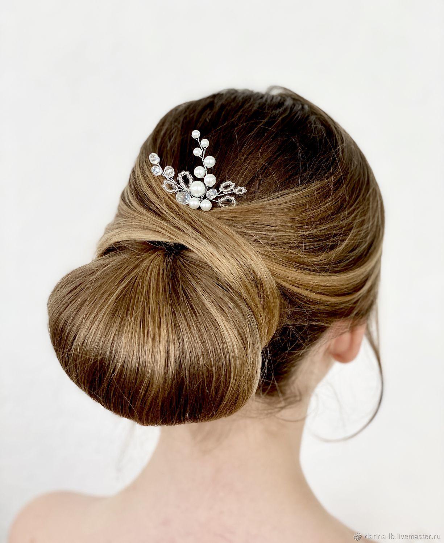 Свадебная шпилька для волос  «Лора», Украшения в прическу, Москва,  Фото №1
