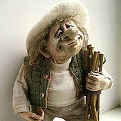 """Куклы и игрушки ручной работы. Ярмарка Мастеров - ручная работа кукла """"ДОМОВИЧОК"""". Handmade."""