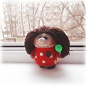 Мягкие игрушки ручной работы. Ярмарка Мастеров - ручная работа Домовёнок Кузя  (Оберег домашний). Handmade.