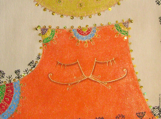 """Женские сумки ручной работы. Ярмарка Мастеров - ручная работа. Купить """"Котенька -Коток"""" Сумка женская. Handmade. Рыжий, для лета"""
