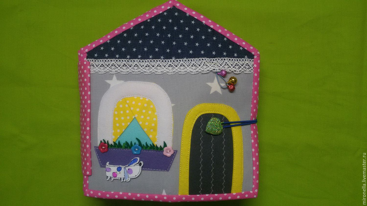 dollhouse. Educational soft book, Cubes and books, St. Petersburg,  Фото №1