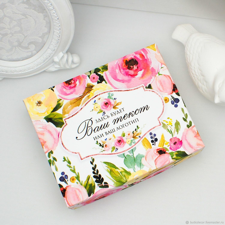 Коробка с розовыми цветами, Коробки, Москва,  Фото №1