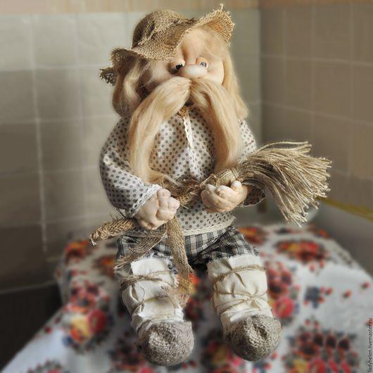 Кукольный дом ручной работы. Ярмарка Мастеров - ручная работа. Купить Домовой. Handmade. Комбинированный, чулочная техника, интерьерная кукла