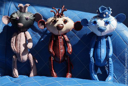 Игрушки животные, ручной работы. Ярмарка Мастеров - ручная работа. Купить королевские мышки. Handmade. Сиреневый, авторская игрушка