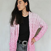 "Одежда handmade. Livemaster - original item Cardigan ""Dream"" DREAM of their Italian cotton yarn. Handmade."