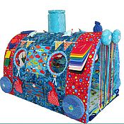 Куклы и игрушки ручной работы. Ярмарка Мастеров - ручная работа Развивающая игрушка Чудо-Поезд Подводный мир. Handmade.