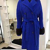 """Пальто ручной работы. Ярмарка Мастеров - ручная работа Пальто """"синее чудо """". Handmade."""