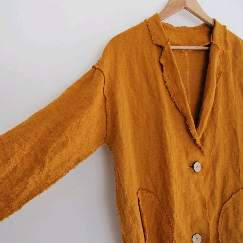 Summer linen coat in boho style, Cardigans, Tomsk,  Фото №1