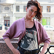 Одежда ручной работы. Ярмарка Мастеров - ручная работа Болеро 0299. Handmade.