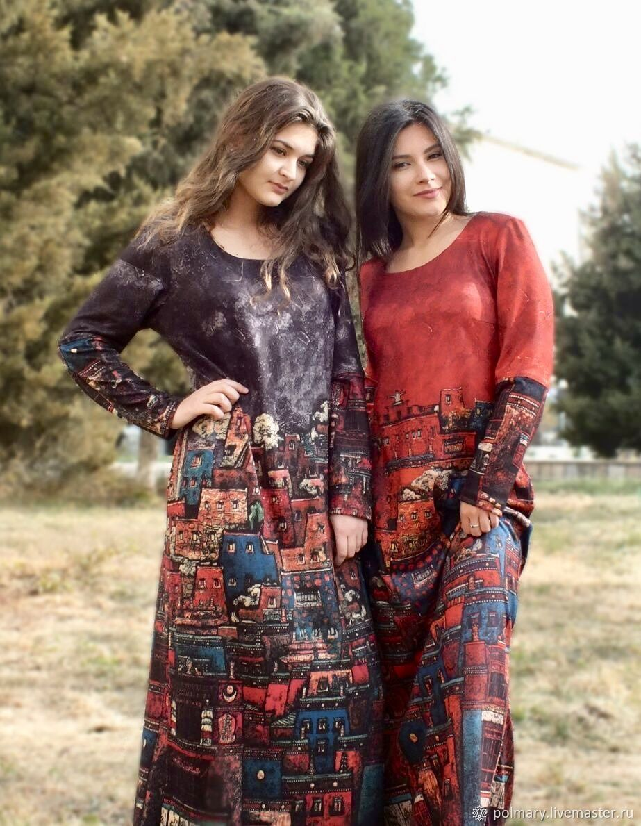 Dress warm suede Urban legends red or black, Dresses, Tashkent,  Фото №1