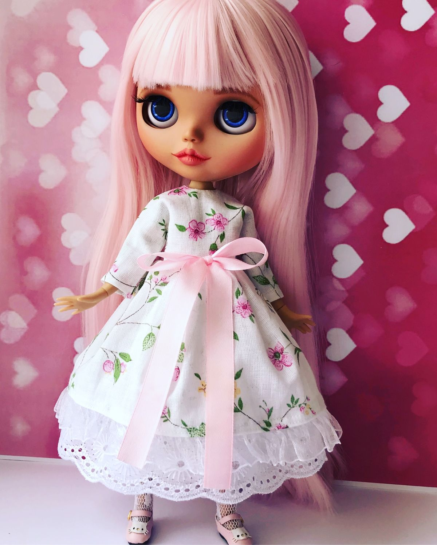 Нежное платье для блайз в стиле РомантИк, Одежда для кукол, Ижевск,  Фото №1