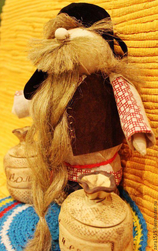Сувениры ручной работы. Ярмарка Мастеров - ручная работа. Купить Домовой, оберег. Handmade. Комбинированный, ручная работа, домовушка, бусины