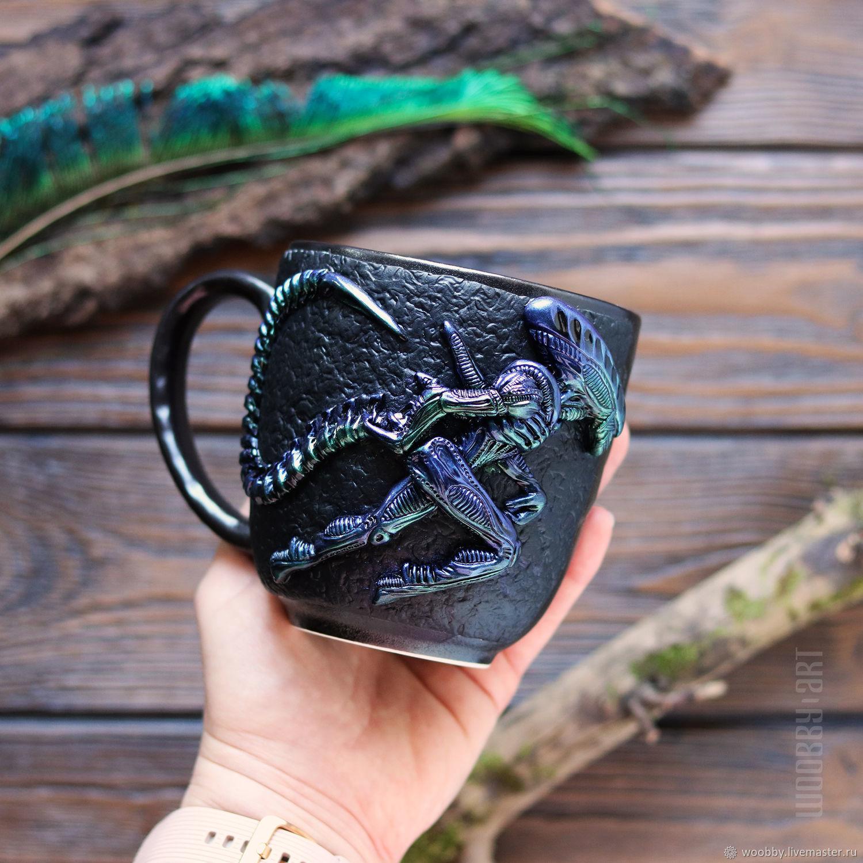 Alien runner mug', Mugs and cups, Zelenograd,  Фото №1