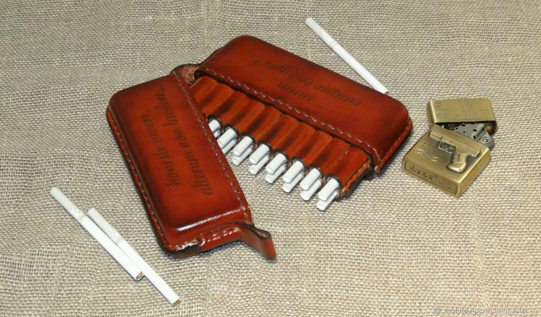 Купить портсигар для сигарет компакт где в москве купить американские сигареты форум