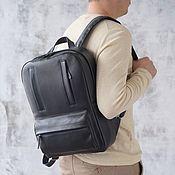 Сумки и аксессуары handmade. Livemaster - original item Men`s backpack leather