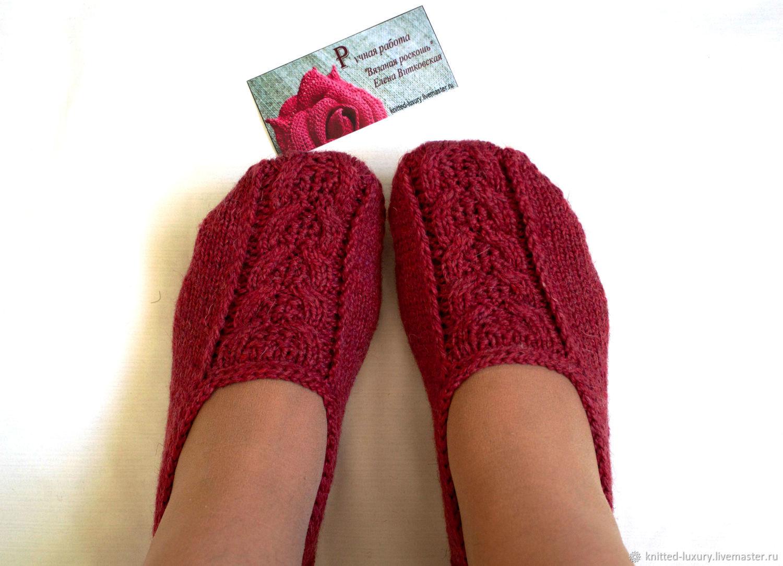Вязание следов и носков