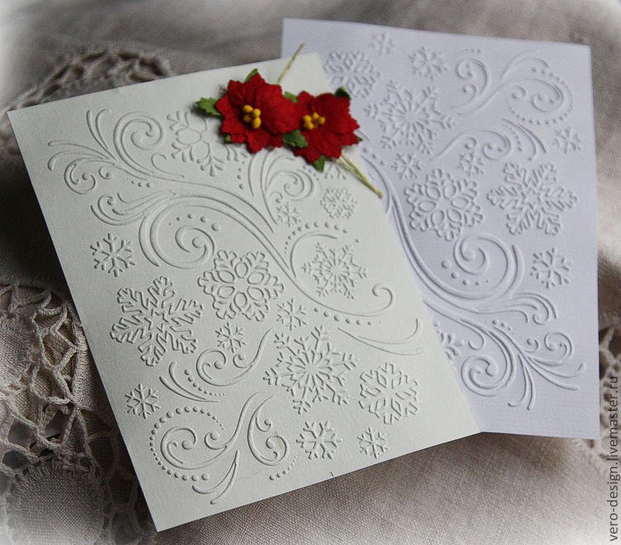 Картинках, открытки с тиснением на бумаге