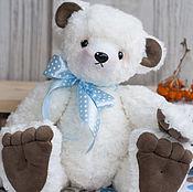 Куклы и игрушки handmade. Livemaster - original item White bear black nose. Handmade.